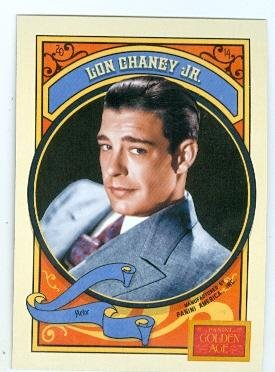 Lon Chaney Jr trading card 2014 Panini Golden Age #44 Lennie Mice and Men