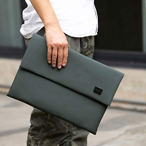 Color : Beige E200 Series Polyester Waterproof Laptop Sleeve Bag for 14-15.4 inch Laptops