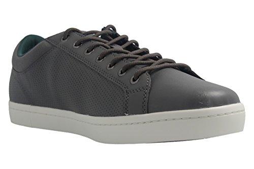 Lacoste - Zapatillas de skateboarding de Piel Lisa para hombre gris gris