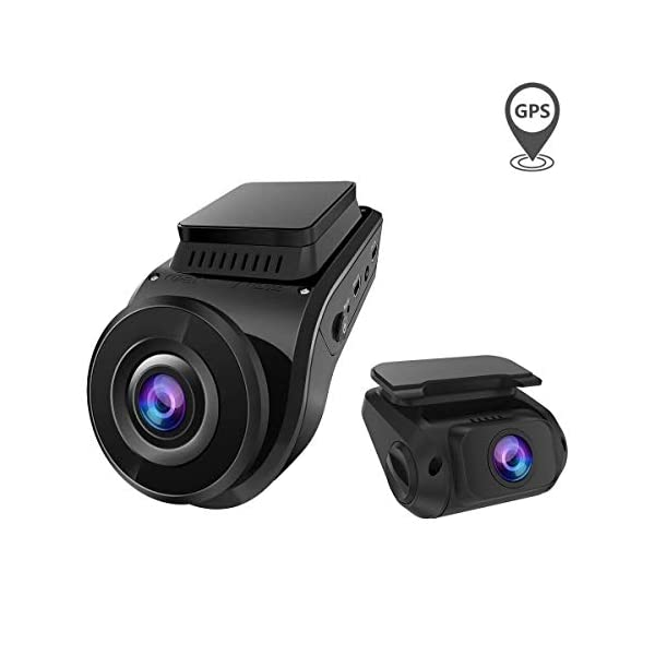 Vantrue S1 2160P Single Front, Dual 1080P Front and Rear Dash Cam with Built in GPS Speed, Super Capacitor, Sony Starvis Low Light Night Vision, 24hr Parking Mode, Motion Detection, Support 256GB Max