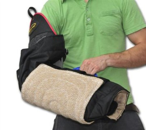 Dean and Tyler Bundle - One Intermediate 3-Level Bite Sleeve With One Cuff, Jute