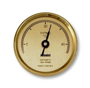 adorini Round Gold Thermometer