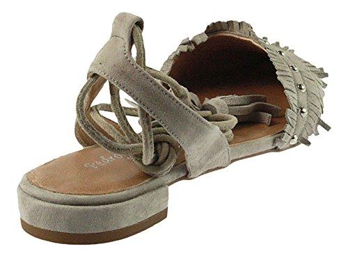 gris MIRALLES gris Sandales pour femme PEDRO Gris HvqBa