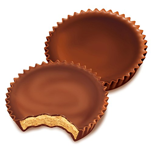 034000004409 - REESE'S Peanut Butter Cup, Milk Chocolate Covered Peanut Butter Cup Candy, 1.5 Ounce Package (Pack of 36) carousel main 5