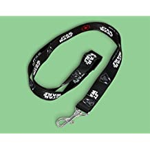 Disney Star Wars Lanyard - Black with Star Wars and Darth Vader pictured