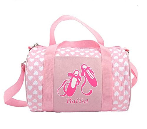 Quilted Dance Ballet Duffle Bag for girls - Recital Costumes Hip Hop