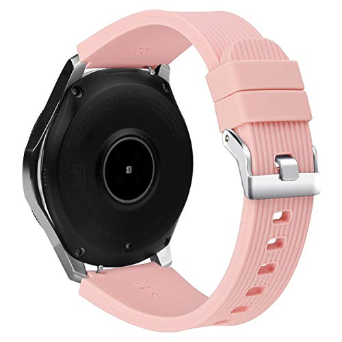 BONSTRAP Watch Strap Pink 22mm for Men Women for Samsung Smartwatch Wristband 22mm