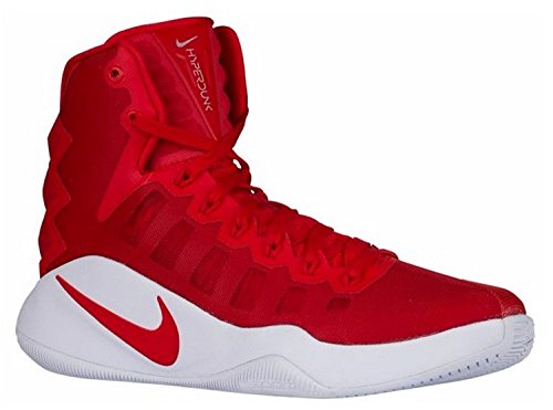 Nike Mens Hyperdunk 2016 Basketball Shoes, Rojo universidad, 42.5 D(M) EU/8 D(M) UK
