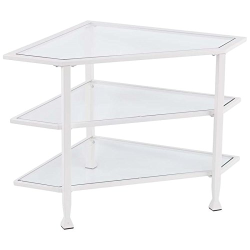 white metal tv stand - 3