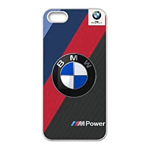 iPhone 5, 5S Cell Phone Case White BMW Plastic Durable Cover Cases derf6003078