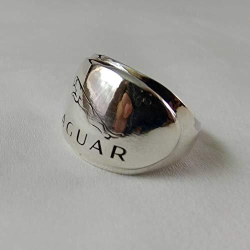 Amazon Com Handmade Unisex Jaguar Ring 925 Sterling Silver Unisex