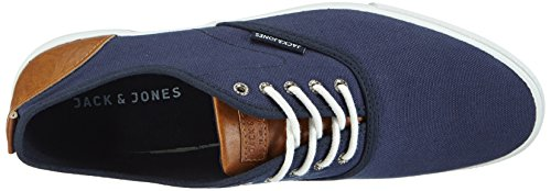 JACK & JONES Jjspider Urban Canvas Sneaker Dress B - zapatilla deportiva de lona hombre azul - azul oscuro