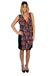 Kenneth Cole New York Women's Dylan Dress Cantaloupe Multi 10