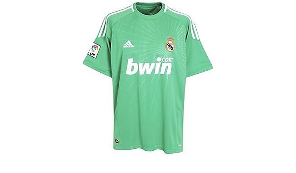 2010-11 Real Madrid Adidas Goalkeeper Home Shirt: Amazon.es ...