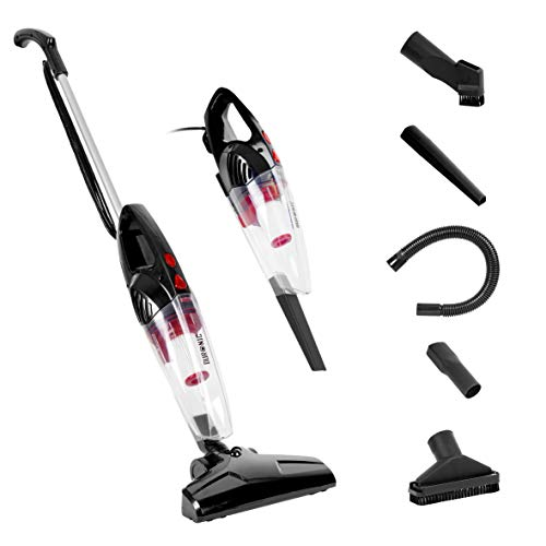 Duronic VC8 /BK Upright Stick Vacuum Cleaner Energy Class A+ HEPA Filter...