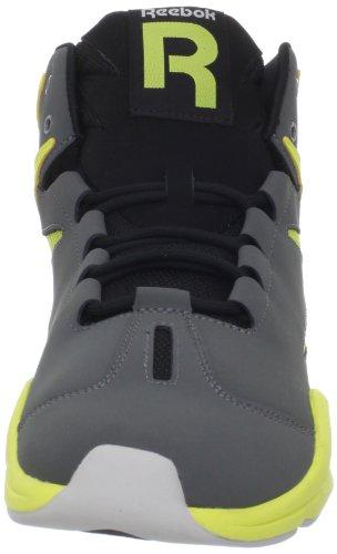 Lace Sneaker Up Salty Rivet Fashion Mens Black Grey Sunrock Reebok Grey Blast qZFawRaE