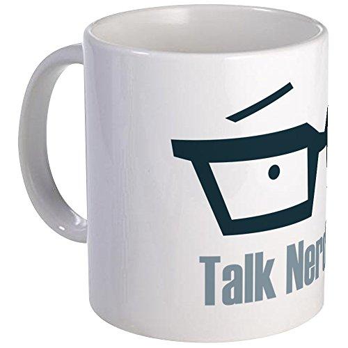 CafePress Talk Nerdy To Me Mug Unique Coffee Mug, Coffee Cup -