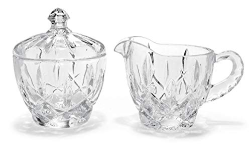 Gorham Crystal Lady Anne Creamer & Covered Sugar Set(s)