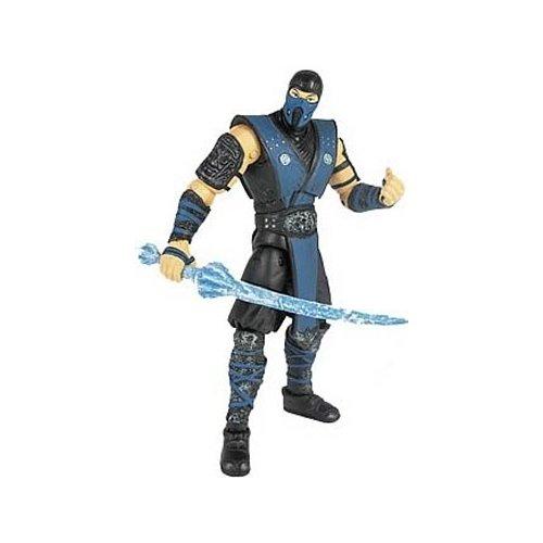 Mortal Kombat, Mortal Kombat 9 Action Figure, Sub-Zero, 4 Inches -