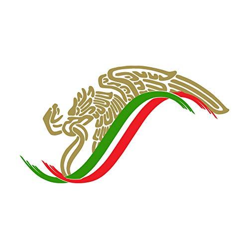 - Mexican Eagle Flag Sticker Decal Mexico Aguila Mexicana Calcomania