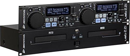 JB Systems USB 2.2 MK2 professioneller Doppel CD-Player