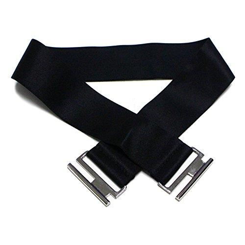 3 Lápiz con Midi Cinturón Kenancy Falda Vestido 3XL Elegante Vestidos Trabajo Fiesta Oficina Mujer S Bodycone Negro 4 de Manga tnwtvYzq