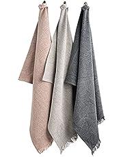 Plain Organic Hemp Towel, Set of 3 Towels