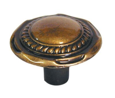 "Amerock Traditional Classics 1 1/4"" Cabinet Knob Antique English"