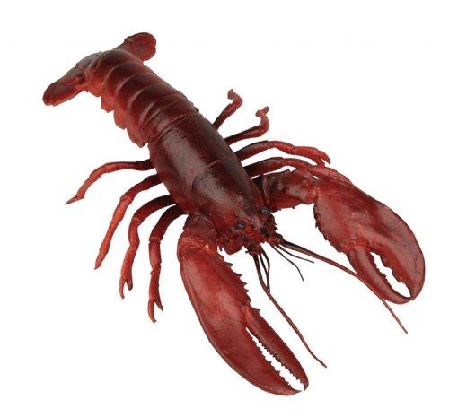 Lifelike Jouet homard en caoutchouc 32 cm