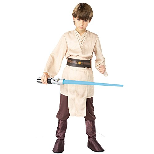 Rubies Star Wars Classic Child's Deluxe Jedi Knight Costume, -