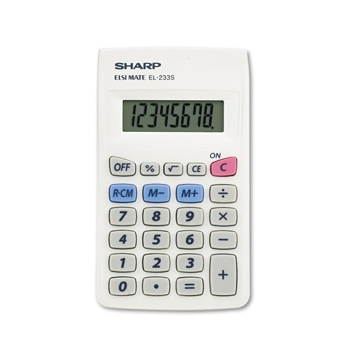 Handheld Calculator, Eight-Digit LCD (Pocket Calculator) (Sharp Keychain Calculator compare prices)