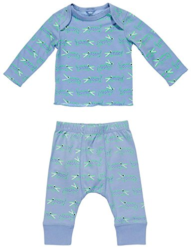 Stella McCartney Kids Baby Boys' Buster+Macy Alligator Print 2pc Set, Blue, - Kids Macy