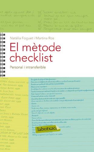 El mètode Checklist. Capítol 1: Personal i intransferible (Catalan Edition)
