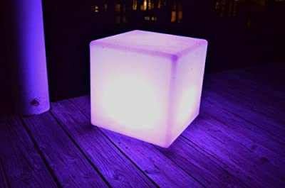 """Main Access 16"""" Pool/Spa Waterproof Color Changing Patio Floating LED Light Seat"""
