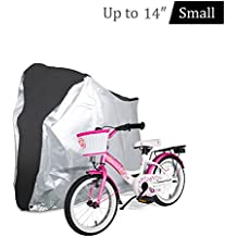 Bicycle Cover - Outdoor Waterproof Anti-Dust Bicycle Wheel Cover - Foldable Bike Storage Bag with Anti-theft Lock Holes - Large Size Bike Cover for Mountain & Road Bike
