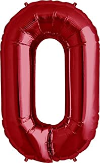 Amazon.com  Letter H - Red Helium Foil Balloon - 34 inch  Toys   Games 6a6a380dee
