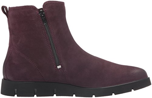 ECCO Ankle Mauve Nubuck Shoes Boot Zip Double Women's Bella FvRxqwFr