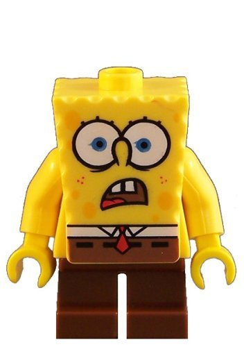 Spongebob Squarepants (Shocked) - LEGO Spongebob 2
