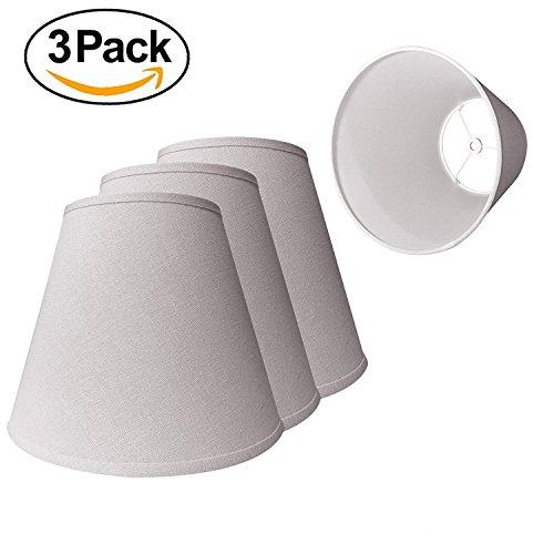 fa7a8f9f8b0 Embrium Lamp Shade  Off-White Cream Linen Fabric