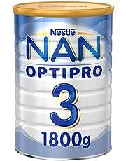 تركيبة نان اوبتي برو لنمو للاطفال من 1-3 سنوات من نستلة، 1800 جرام، عبوة عادية