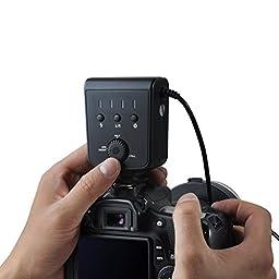 Aputure Amaran AHL-HC100 LED Marco Ring Light Video Flash Light for Canon EOS 5D Mark II III 5D2 7D 6D 70D 700D 650D 60D 600D