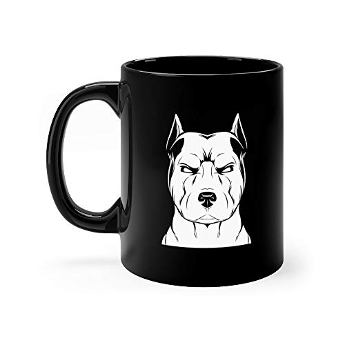 Angry Dog Cup Coffee Or Tea Stafford Fun Mug Ceramic Cups 11 Oz