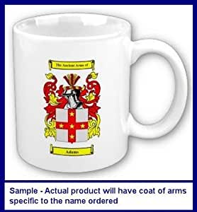 Szatkowski Family Coat of Arms Coffee Cup with Surname