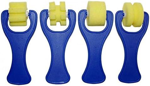 Kleinkinder Pinsel Farbroller Malen Schwamm Bürste Stempel DIY Spielzeug 42tlg.