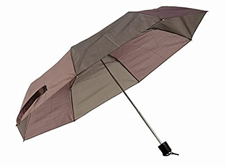 Paraguas De Bolsillo automática con 92 cm diámetro para señoras y señores, A prueba de
