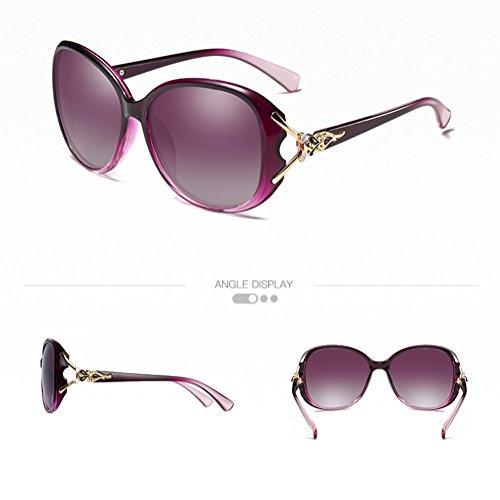 c9350b414d Nuevo CJ Gafas de sol polarizadas de las mujeres de la moda 2018, 013