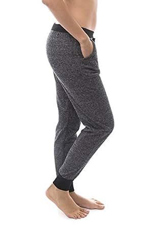 Love Soho Women's Comfortable Heather Athletic Track Cuffed Jogger Sweatpants