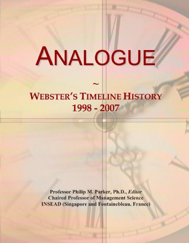 Analogue: Webster's Timeline History, 1998 - 2007 Analogue Line