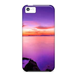 SMu27425jZdq Panorama Purple Sunsets Awesome High Quality Iphone 5c Cases Skin