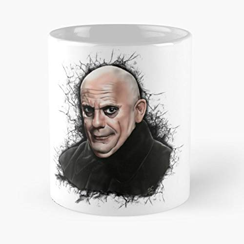 Uncle Fester Addams Family Christopher Lloyd - Best Gift Coffee Mugs 11 Oz Father -
